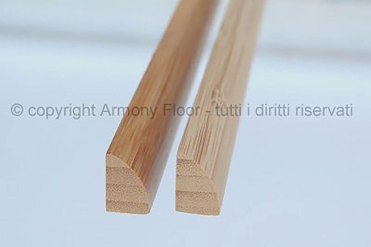 Battiscopa Quarto Rotondo, Bamboo Armony Floor