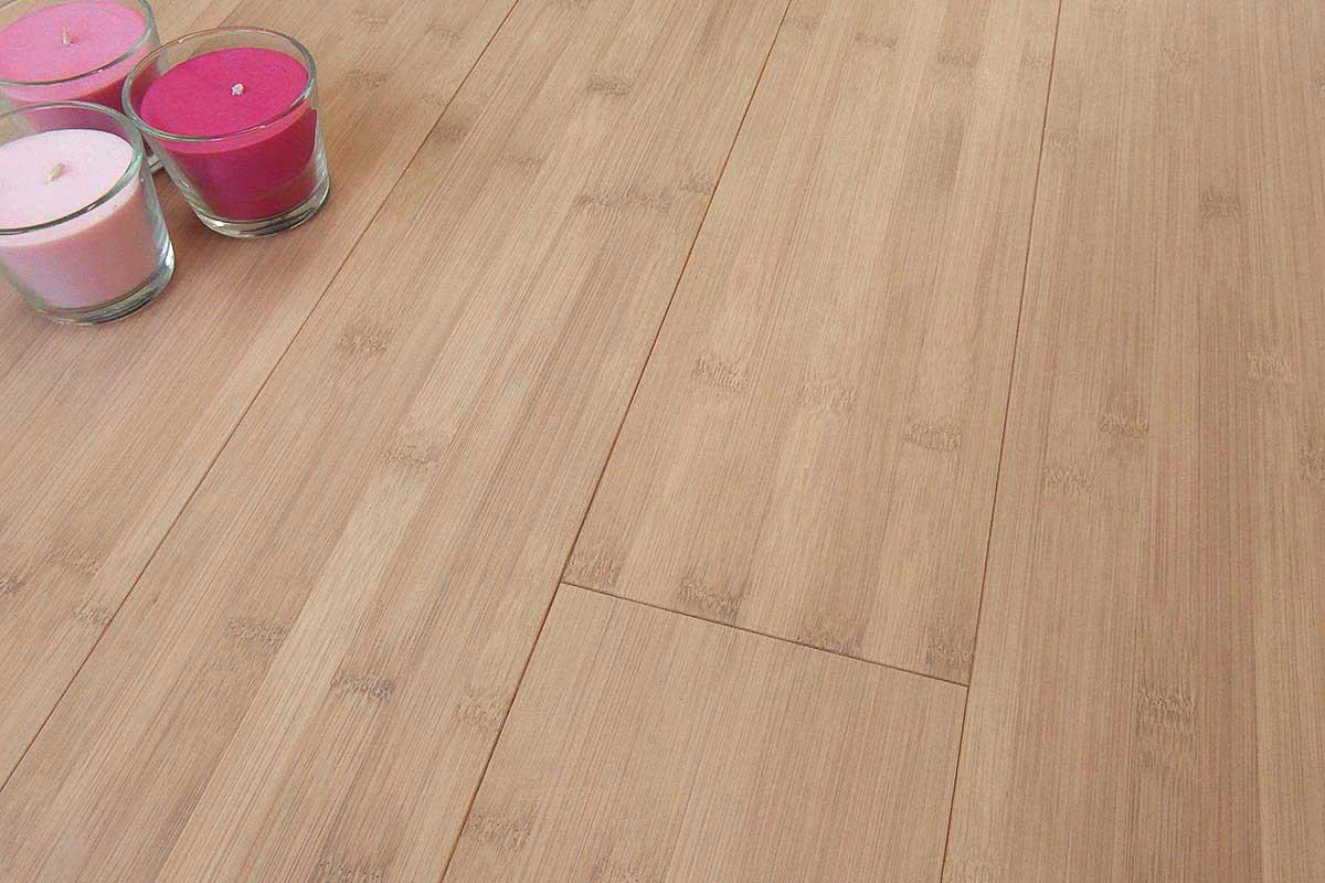 Parquet bamboo colori naturale sbiancato carbonizzato for Parquet armony floor